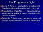 the progressive fight