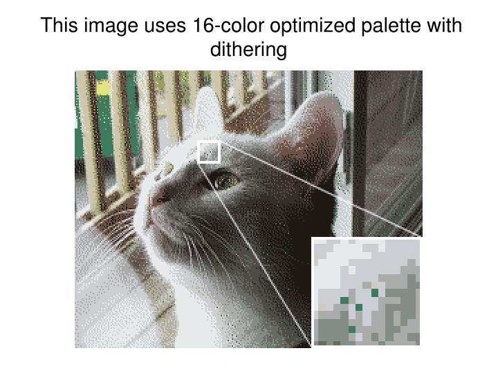 This image uses 16-color optimized palette with dithering