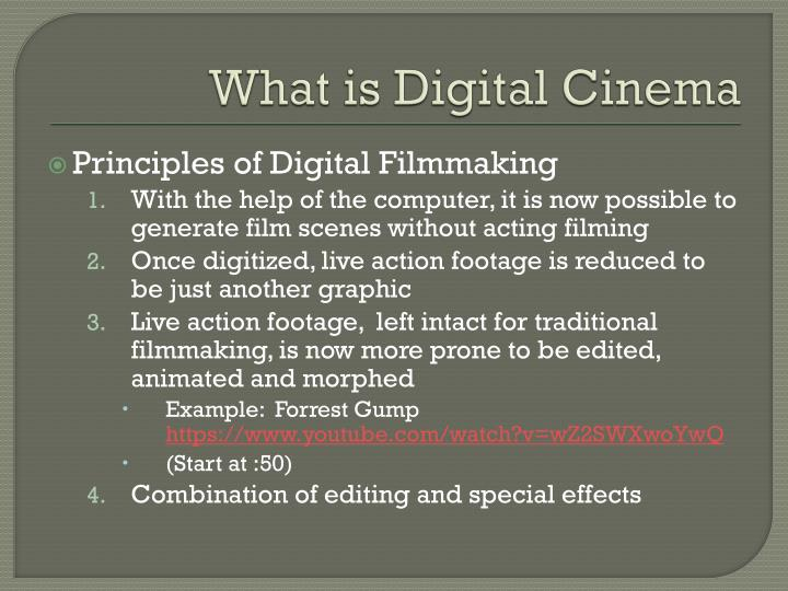 editing within digital filmmaking essay What is it o in his essay filmmaking age • manic editing style tools of digital computer editing: cheap filmmaking promotes personal.