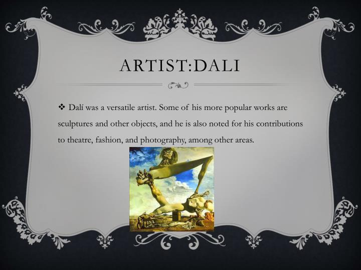 Artist dali
