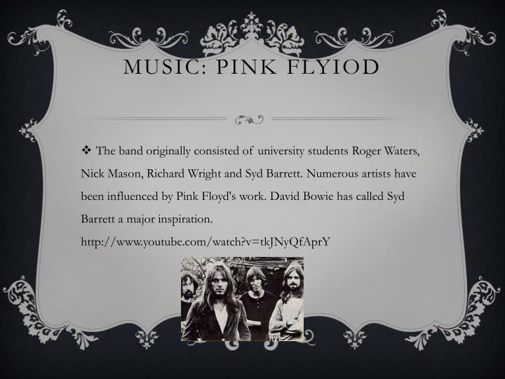 Music: pink