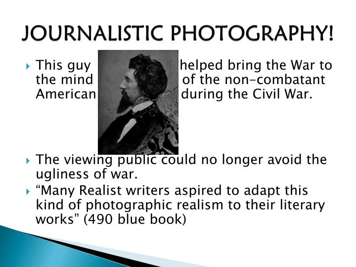 JOURNALISTIC PHOTOGRAPHY!