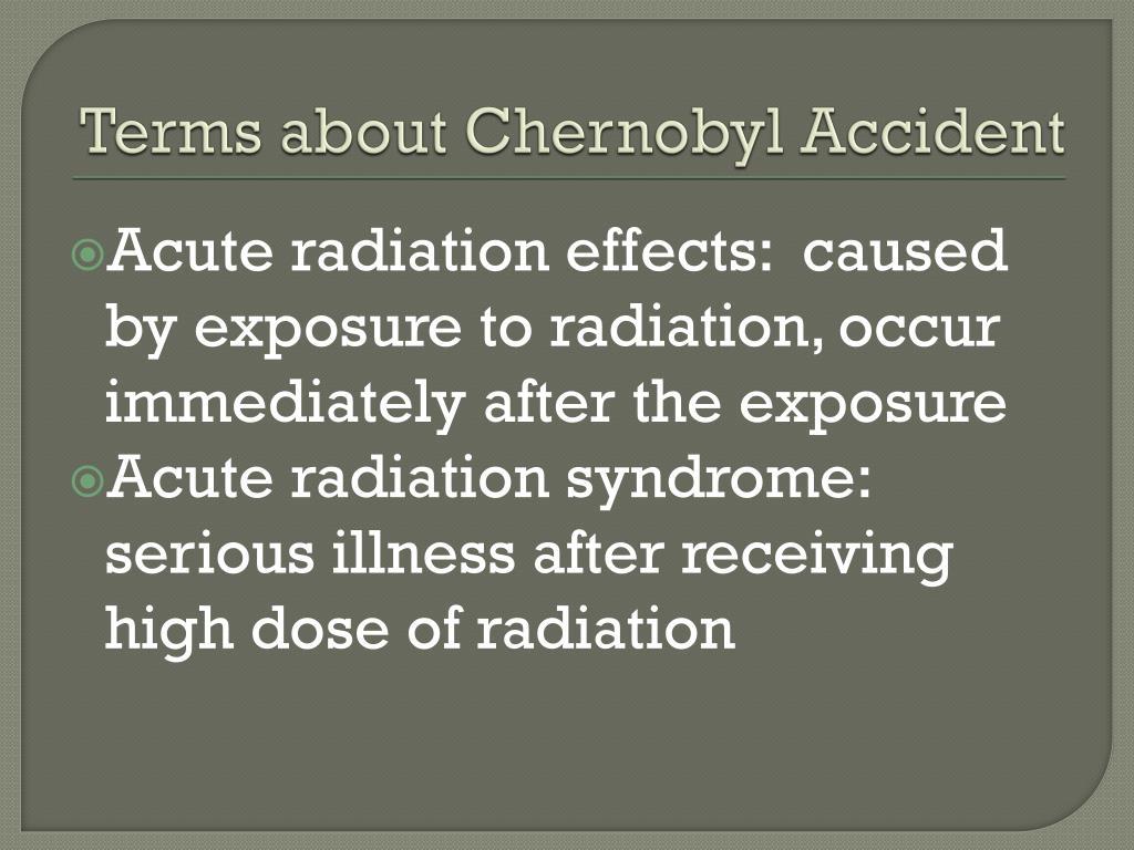 PPT - Chernobyl PowerPoint Presentation - ID:1553986