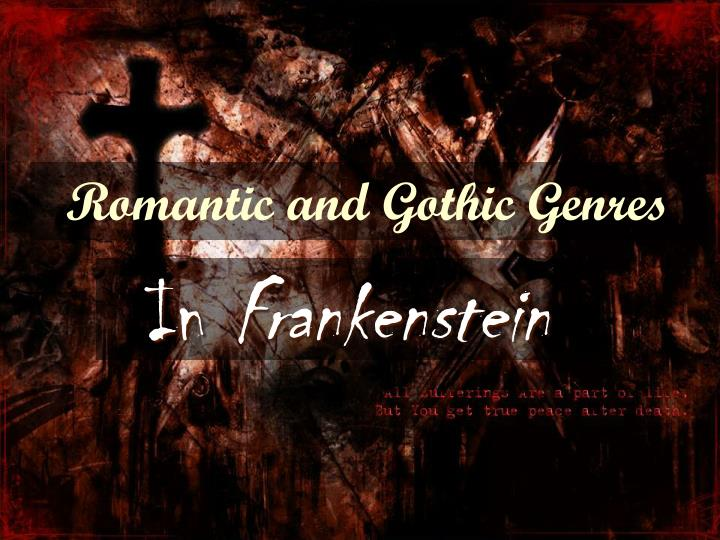 essays on frankenstein gothic