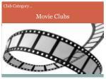 movie clubs