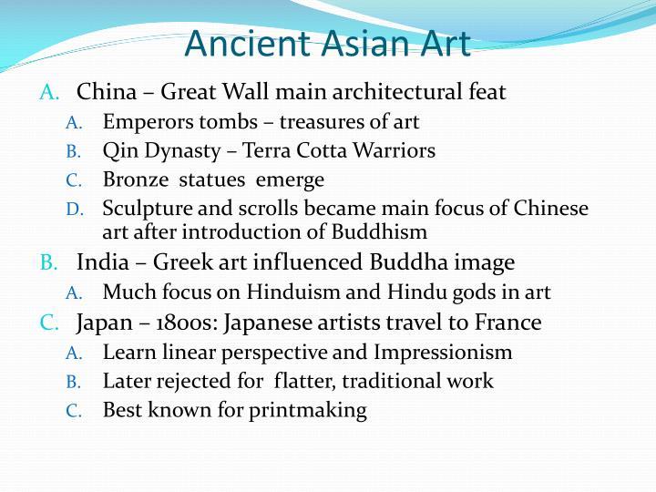 Ancient Asian Art