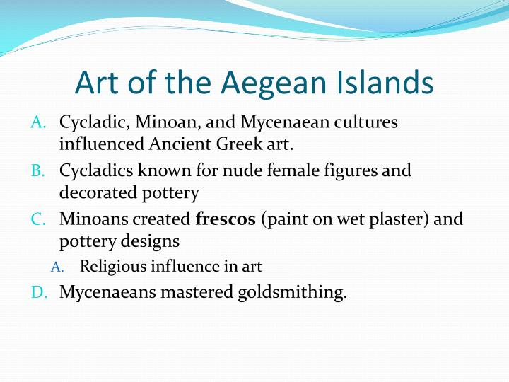 Art of the Aegean Islands