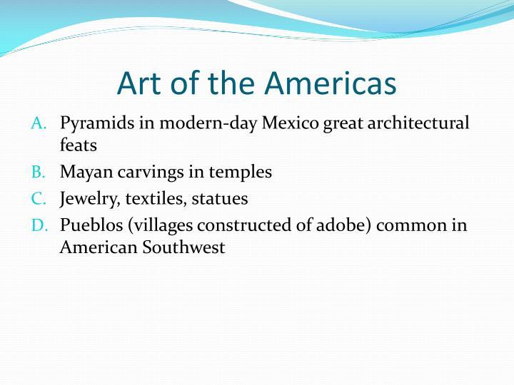 Art of the Americas