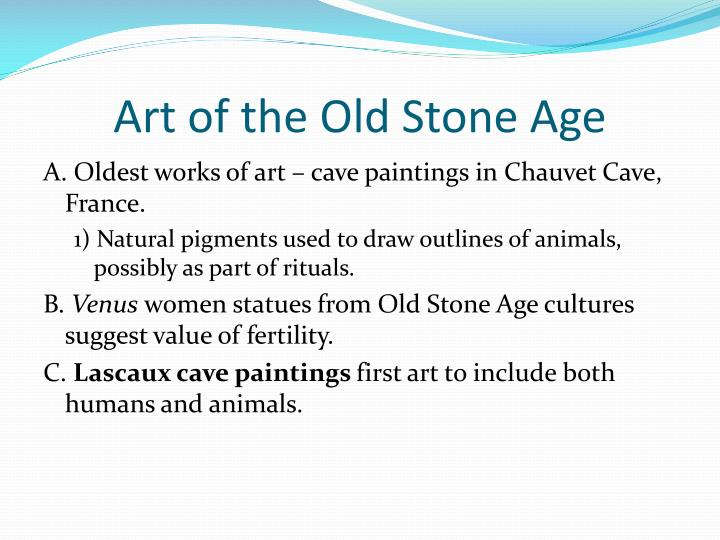 Art of the Old Stone Age