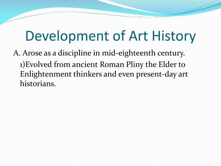Development of Art History