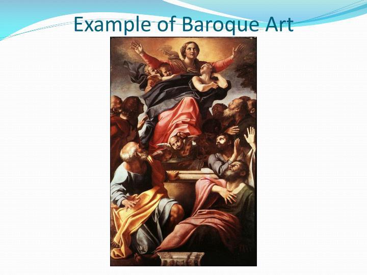 Example of Baroque Art