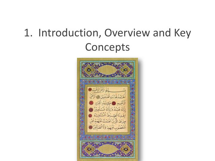 1 introduction overview and key concepts