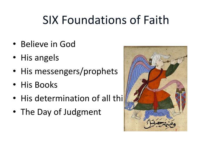 SIX Foundations of Faith