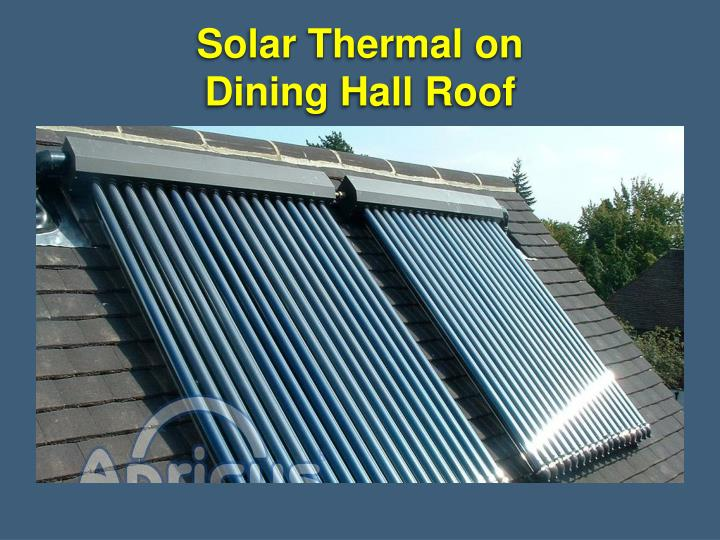 Solar Thermal on
