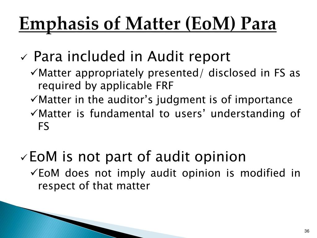 PPT - New Audit Reporting Standards PowerPoint Presentation - ID:1555836