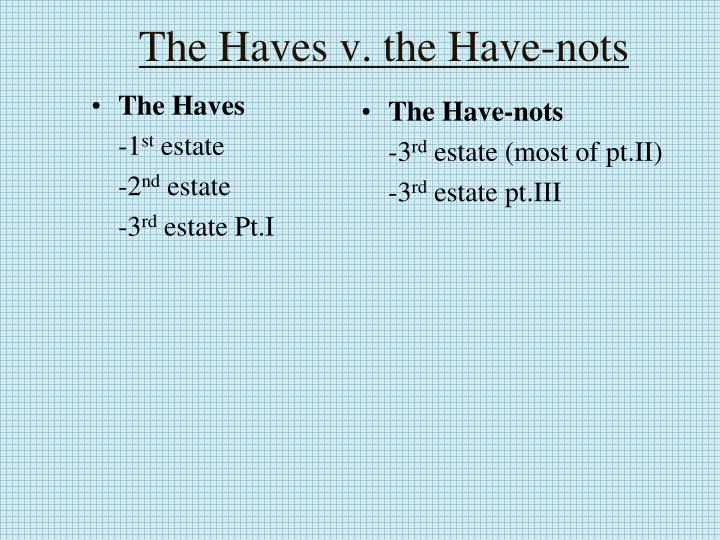 The Haves