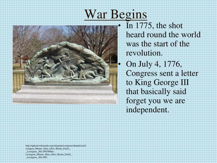 War Begins