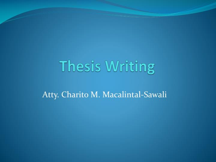 masters thesis powerpoint Custom writing letter masters thesis powerpoint social work papers paper about management.