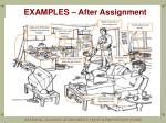 examples after assignment
