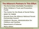 the alliance s partners in this effort