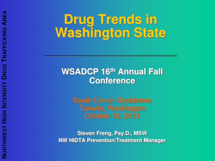 drug trends in washington state