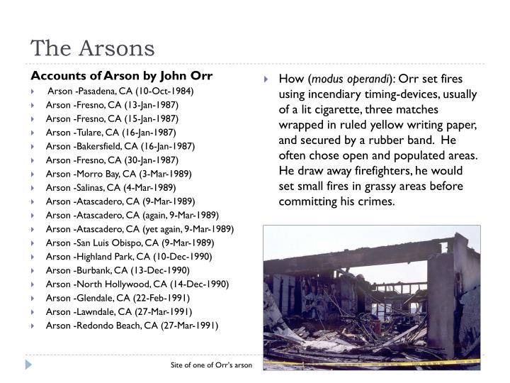 The Arsons