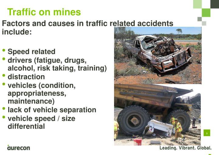 Traffic on mines