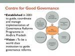 centre for good governance1
