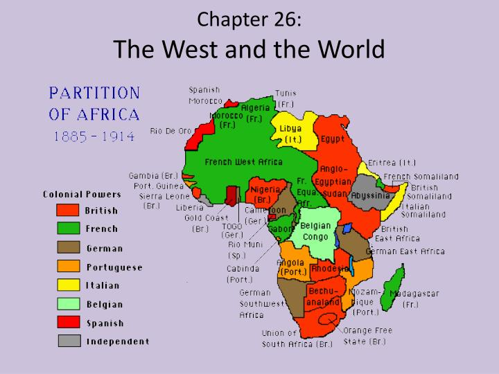 chapter 26 the west and the world n.
