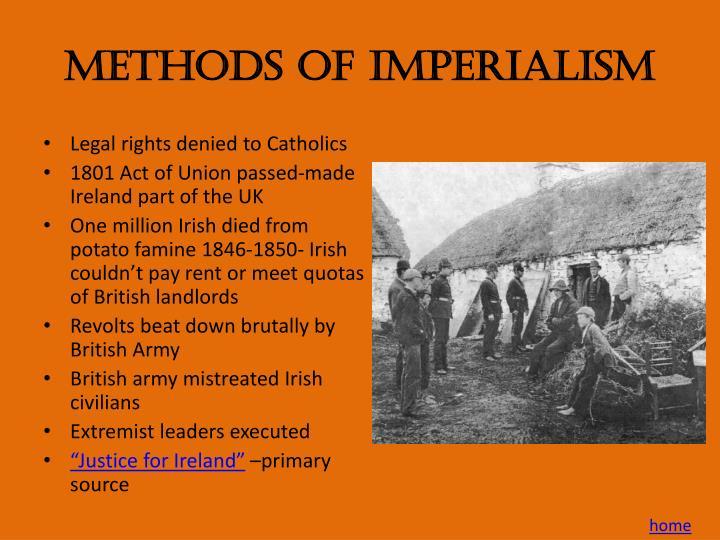 Methods of Imperialism