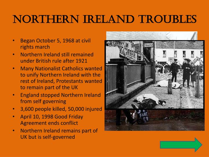 Northern Ireland Troubles
