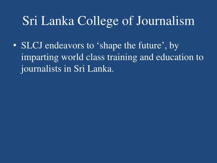 Sri Lanka College of Journalism