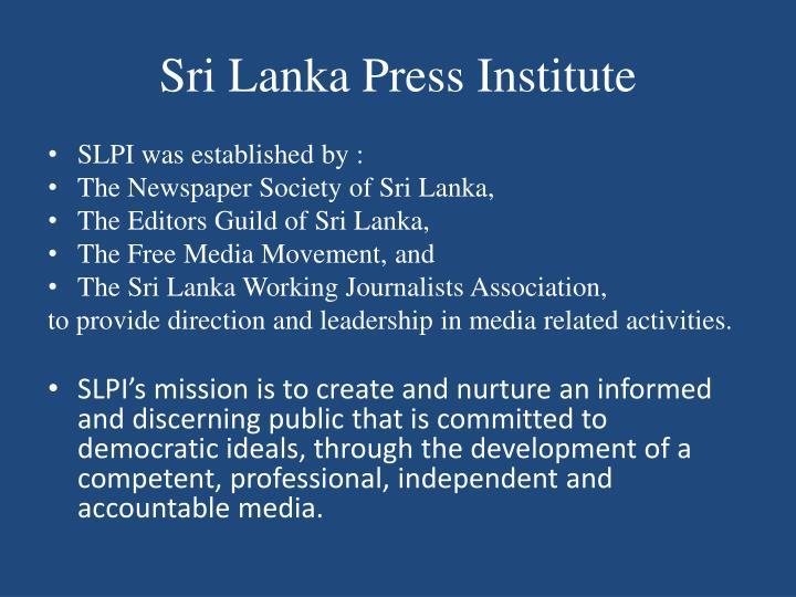 Sri Lanka Press Institute