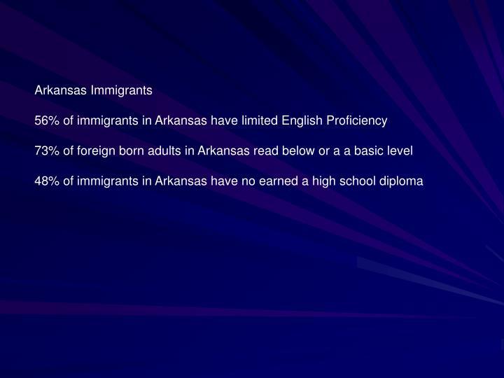 Arkansas Immigrants