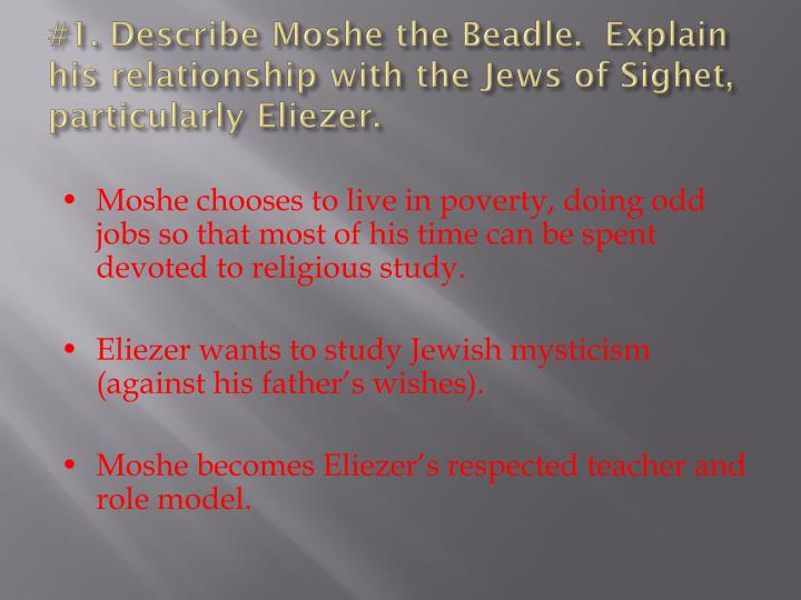 Moshe The Beadle
