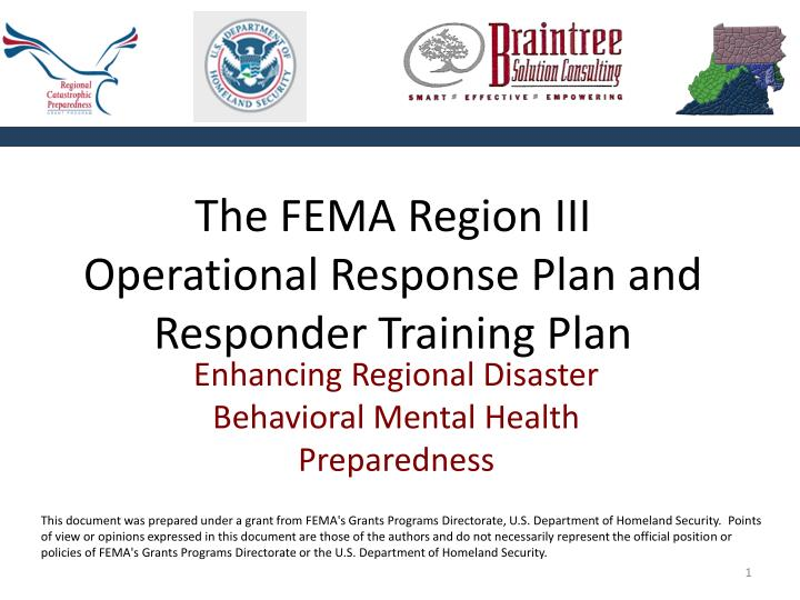 future disaster responder mental health essay Download citation on researchgate | disaster mental health research: past, present, and future | introduction insights about disasters inevitably arise.