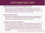 copywriting tips