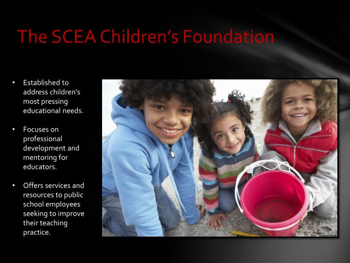 The SCEA Children's Foundation