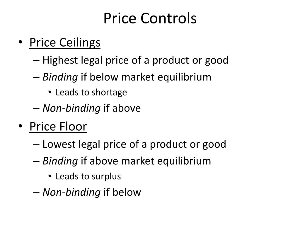 Ppt Governmental Policy And Supply And Demand Powerpoint