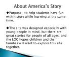 about america s story
