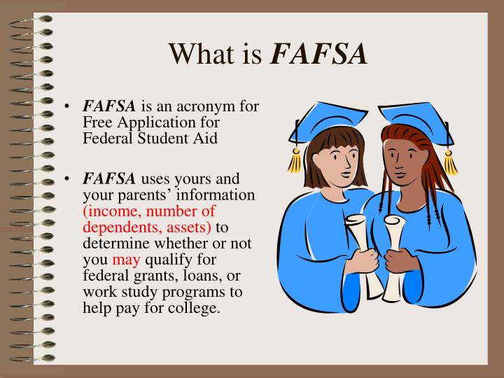 What is fafsa