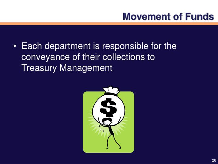 Movement of Funds