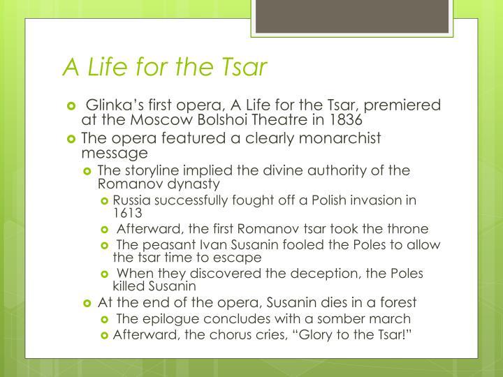 A Life for the Tsar