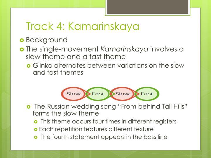 Track 4: