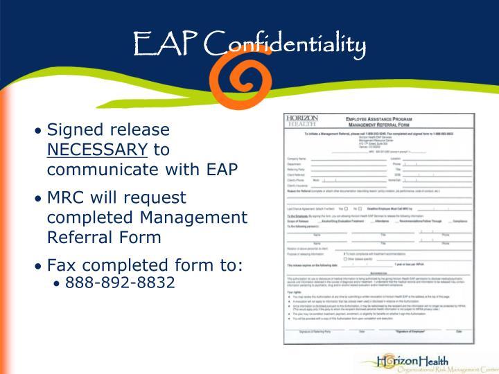 EAP Confidentiality