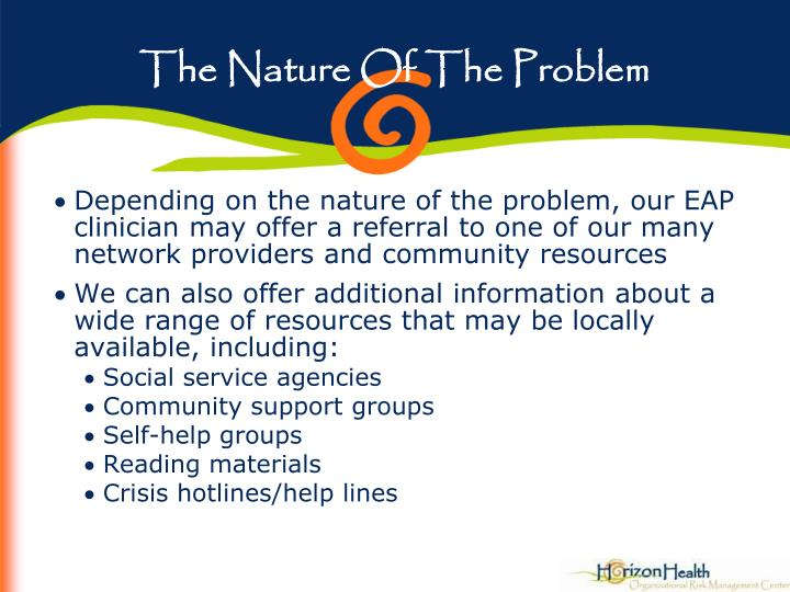 The Nature Of The Problem