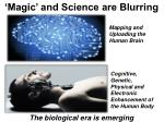 magic and science are blurring