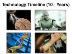 technology timeline 10 years