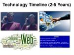 technology timeline 2 5 years