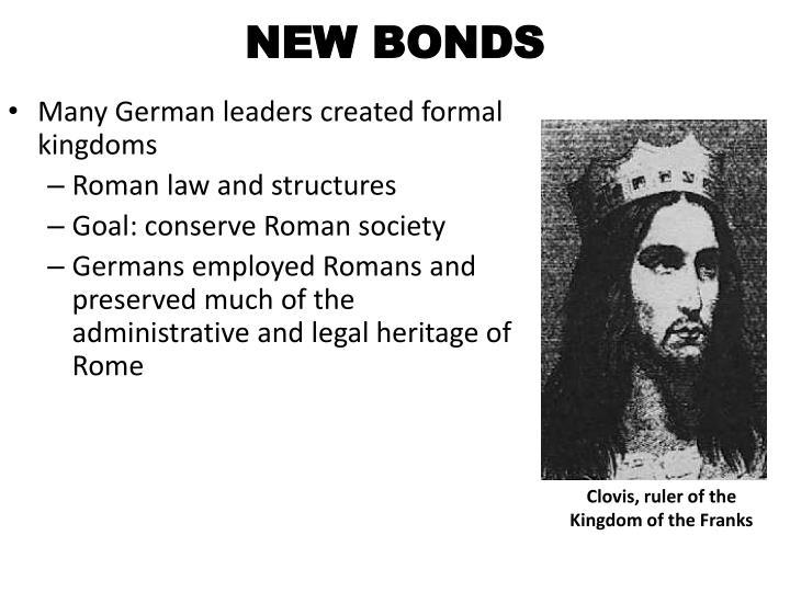 NEW BONDS